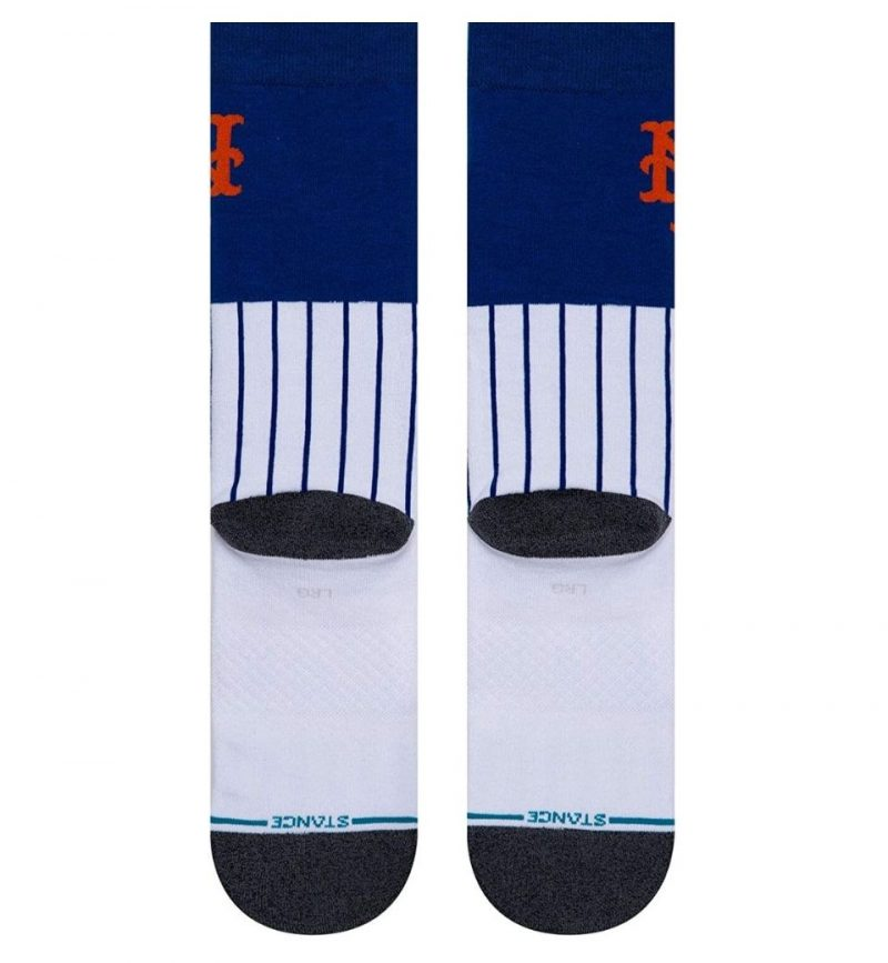 Socks Medium MLB New York Mets Shortcut Stance