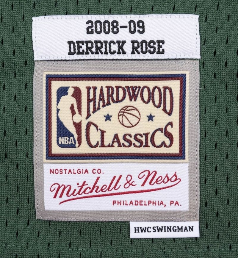 Derrick Rose - Chicago Bulls 2008-09 - Mitchell and Ness - etiquette