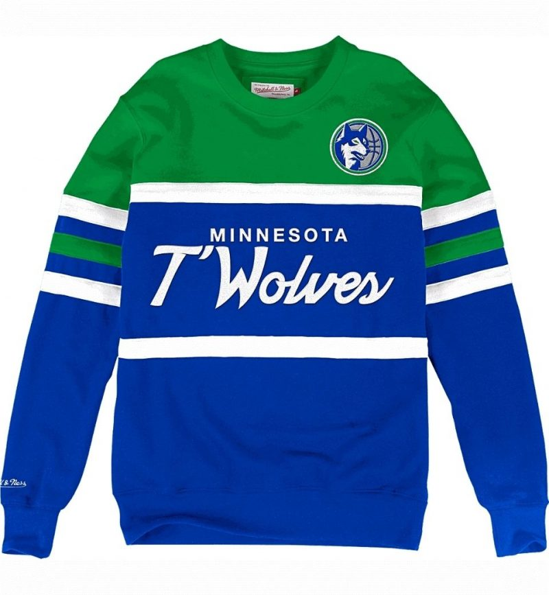Head Coach Crew Minnesota Timberwolves - Mitchell & Ness