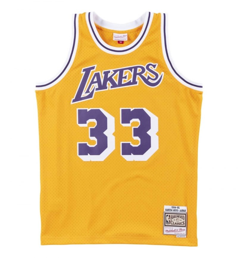 Kareem Abdul Jabbar - Los Angeles Lakers - Mitchell & Ness