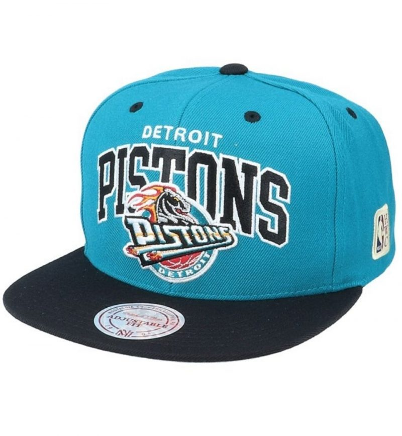 Casquette NBA Arch Tone Snapback Detroit Pistons - Mitchell & Ness