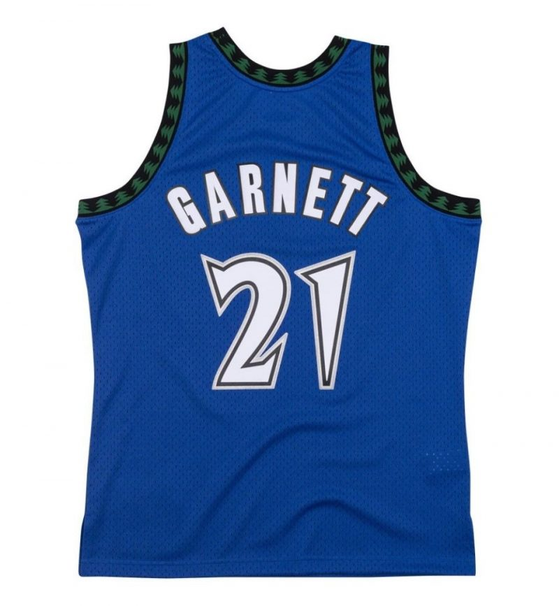 Kevin Garnett - Minnesota Timberwolves - Mitchell and Ness -dos