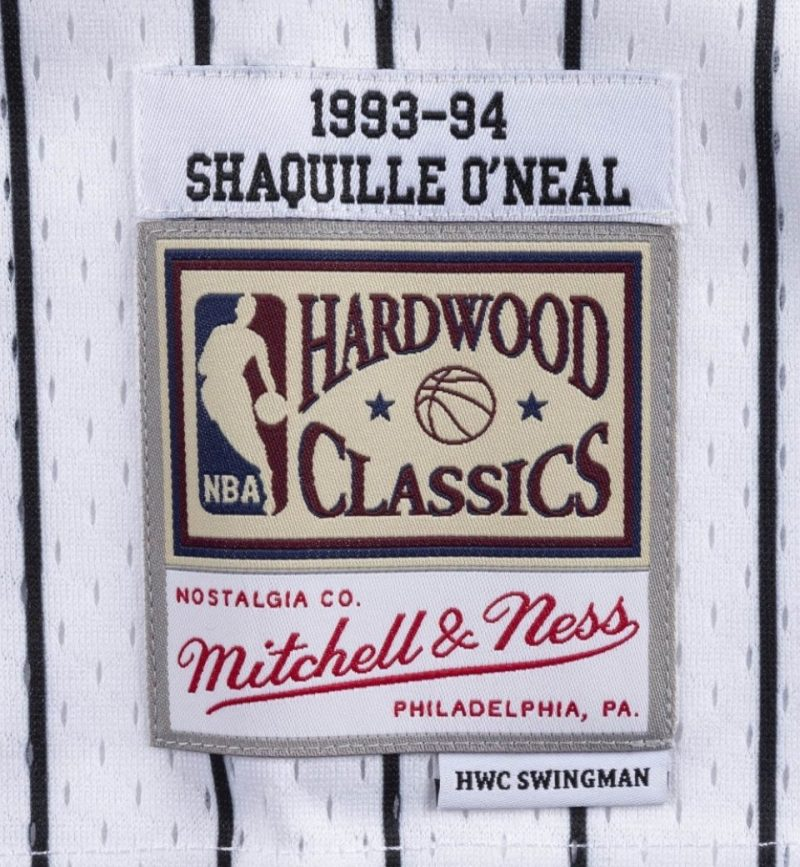 Shaquille O'neal - Orlando Magic - Mitchell and Ness - etiquette