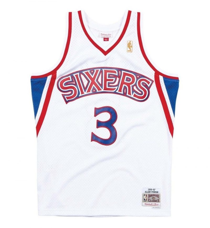 Maillot Allen Iverson - Philadelphia Sixers 1996-97 - Mitchell and Ness