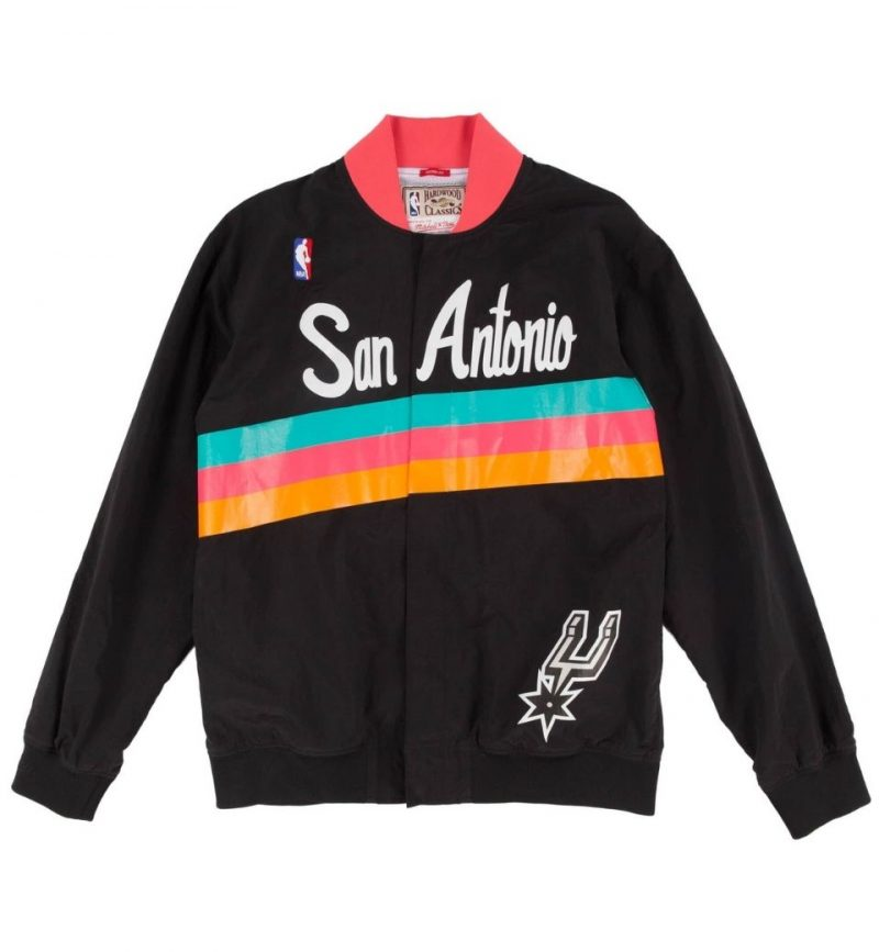 Authentic Warm Up Jacket San Antonio Spurs 1994-95 - Mitchell & Ness