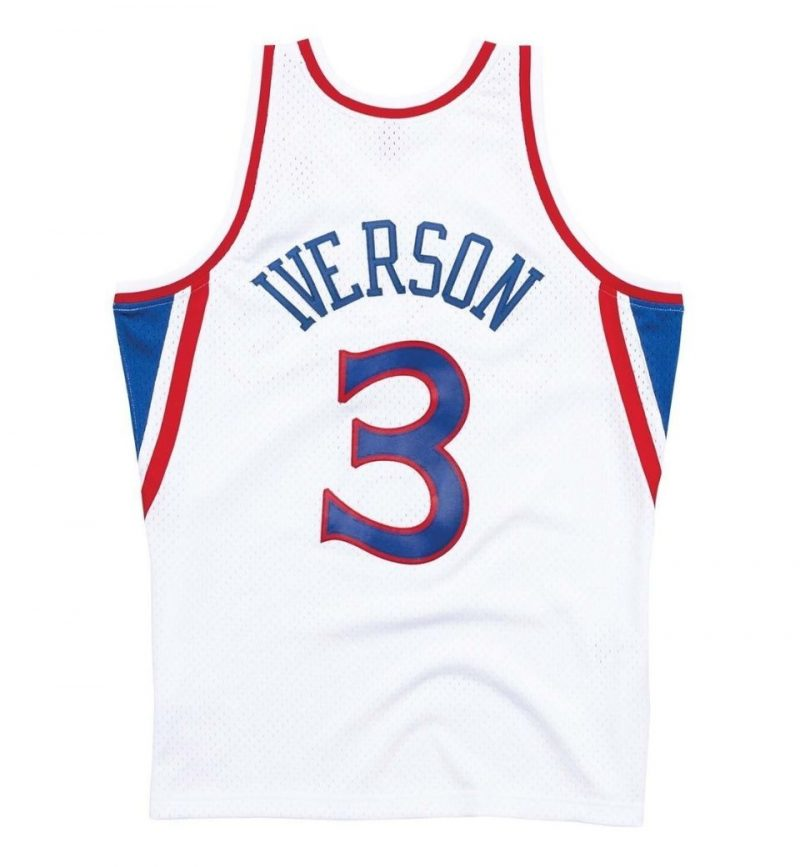 Maillot Allen Iverson - Philadelphia Sixers 1996-97 - Mitchell and Ness - dos