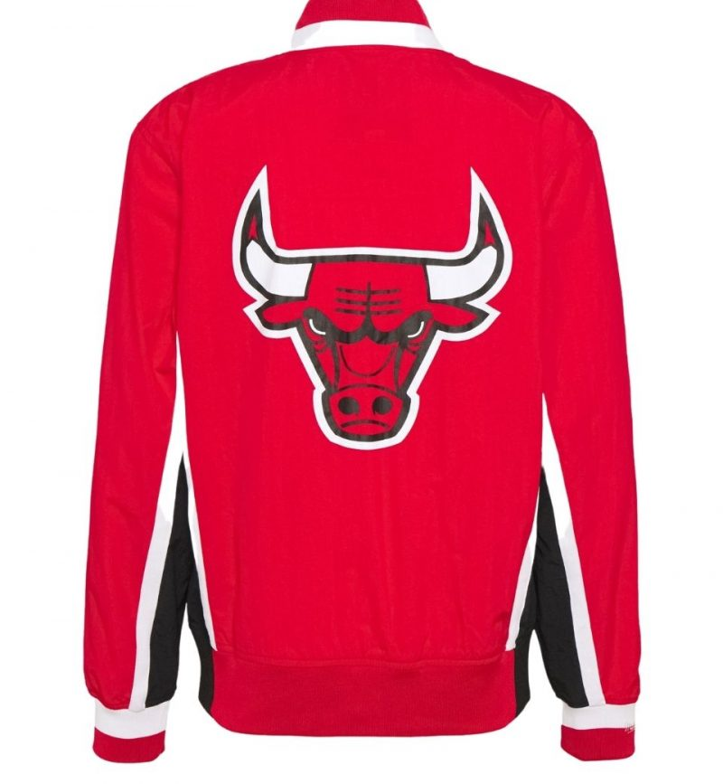 Authentic Warm Up Jacket Chicago Bulls 1992-93- Mitchell & Ness - dos