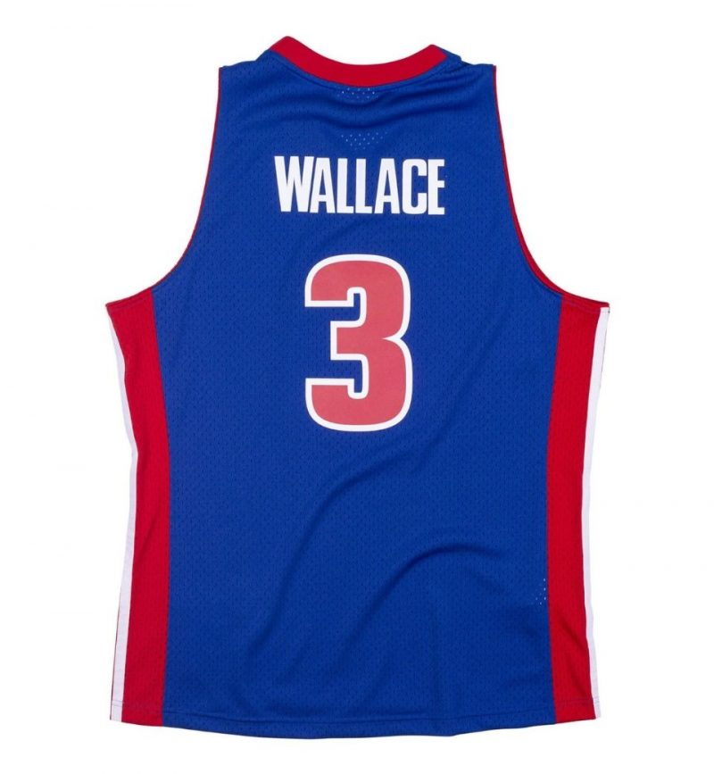 Maillot Ben Wallace Detroit Pistons 2003-04 Mitchell & Ness - dos