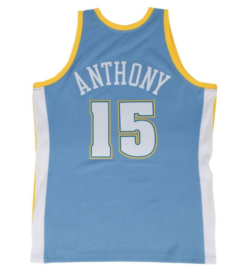 Maillot Carmelo Anthony Denver Nuggets 2003-04 Mitchell and Ness - dos