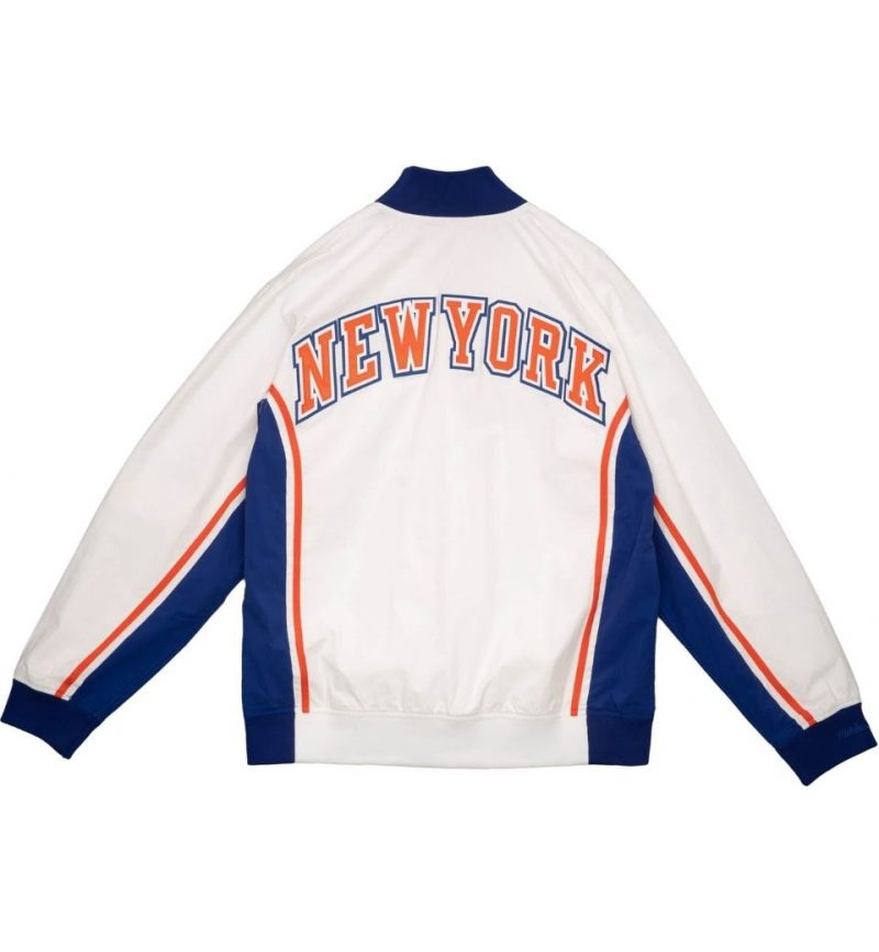 Authentic New York Knicks 1993-94 Warm Up Jacket - Mitchell & Ness - dos
