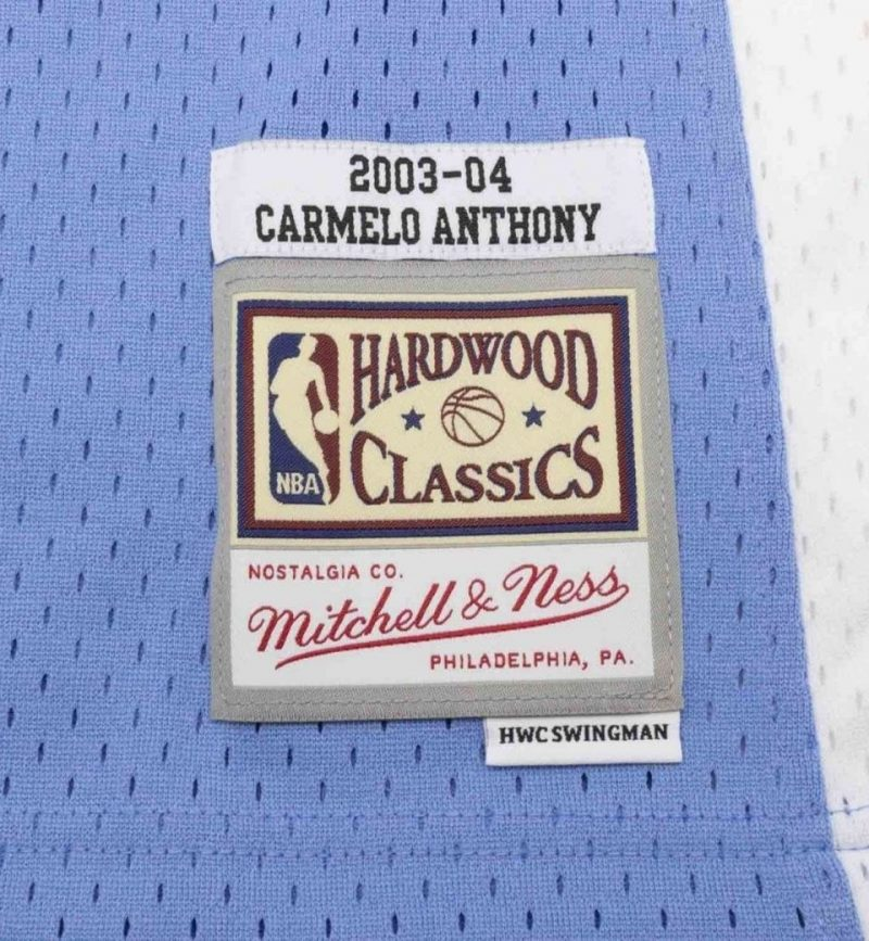 Maillot Carmelo Anthony Denver Nuggets 2003-04 Mitchell and Ness - etiquette