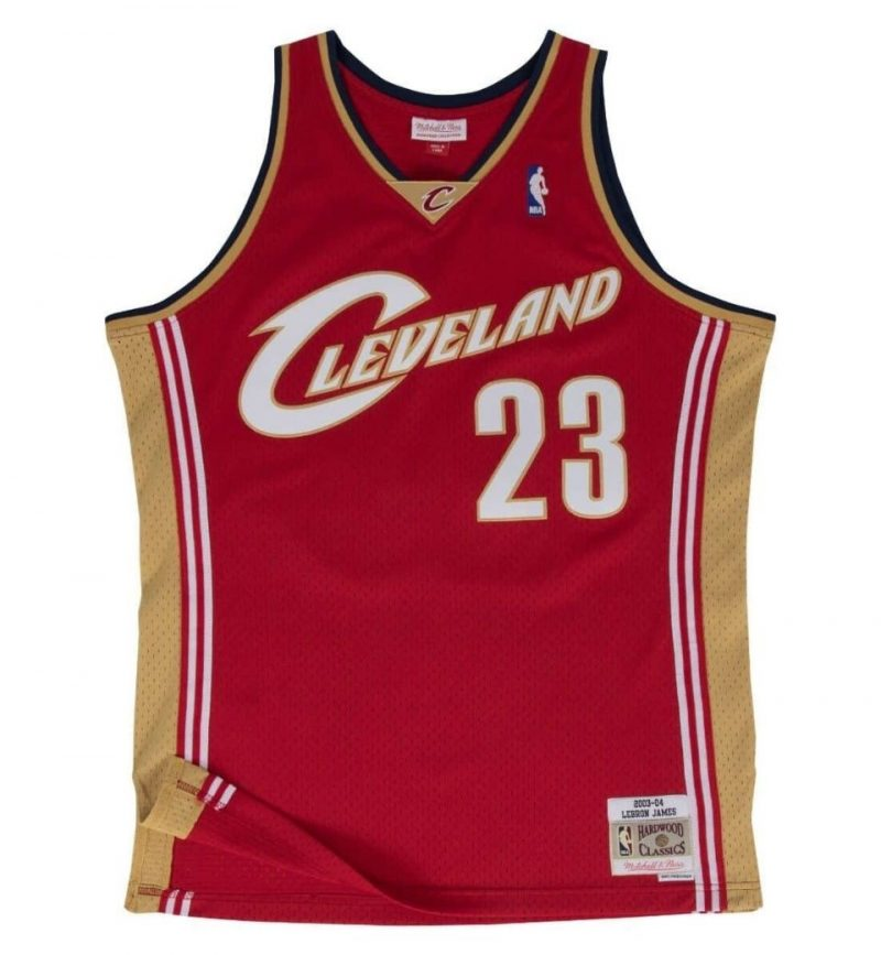 Maillot Lebron James 2003-04 - Mitchell and Ness
