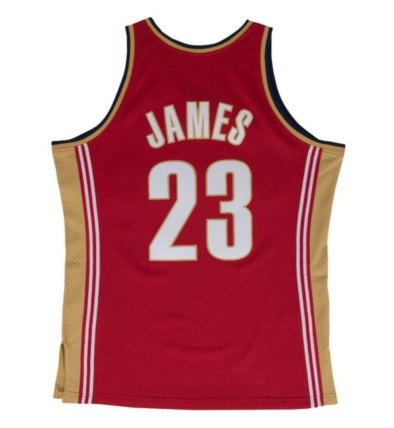 Maillot Lebron James 2003-04 - Mitchell and Ness - dos