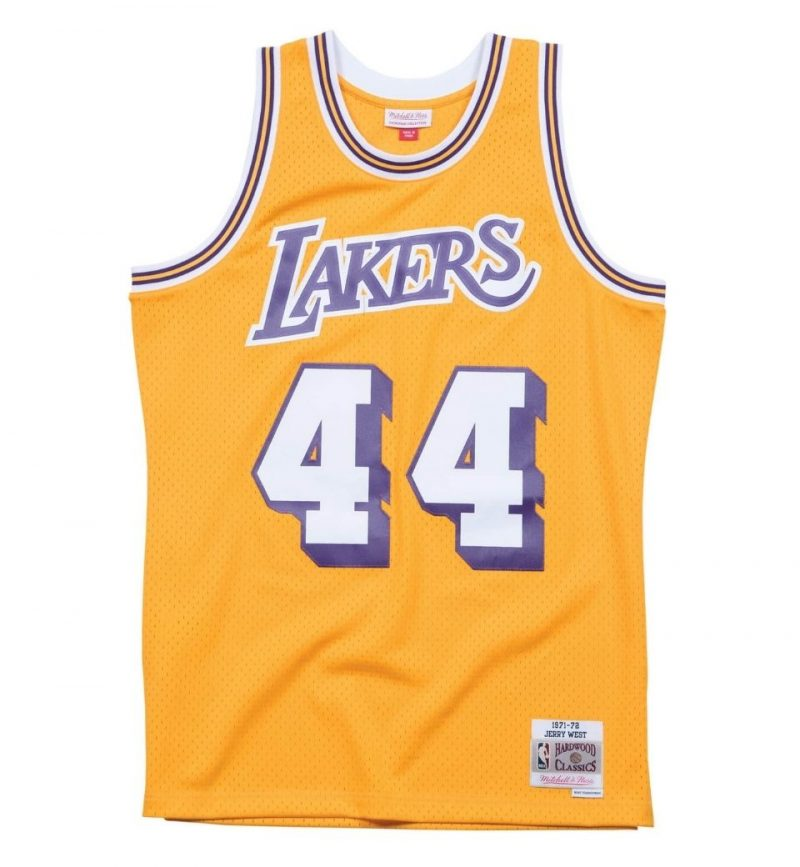 Maillot Jerry West Los Angeles Lakers 1971-72 - Mitchell and Ness