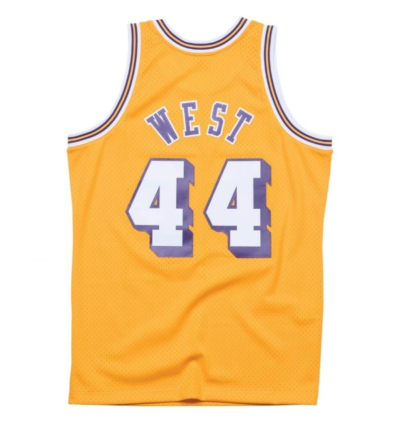 Maillot Jerry West Los Angeles Lakers 1971-72 - Mitchell and Ness - dos