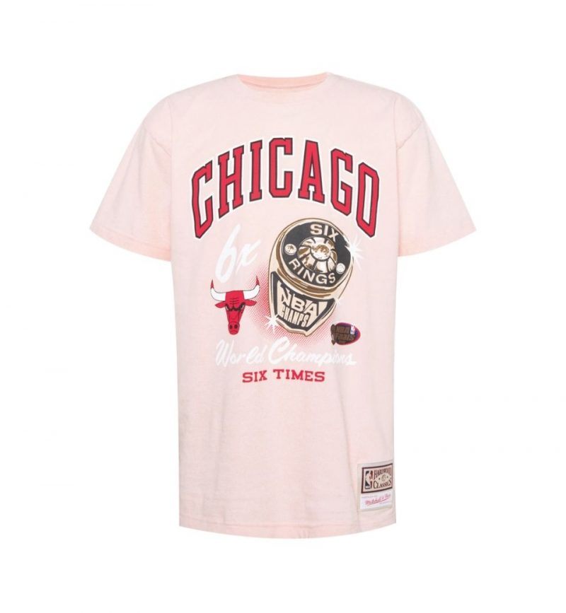 T-Shirt vintage NBA Chicago Bulls Pastel Rings Tee - Mitchell and Ness