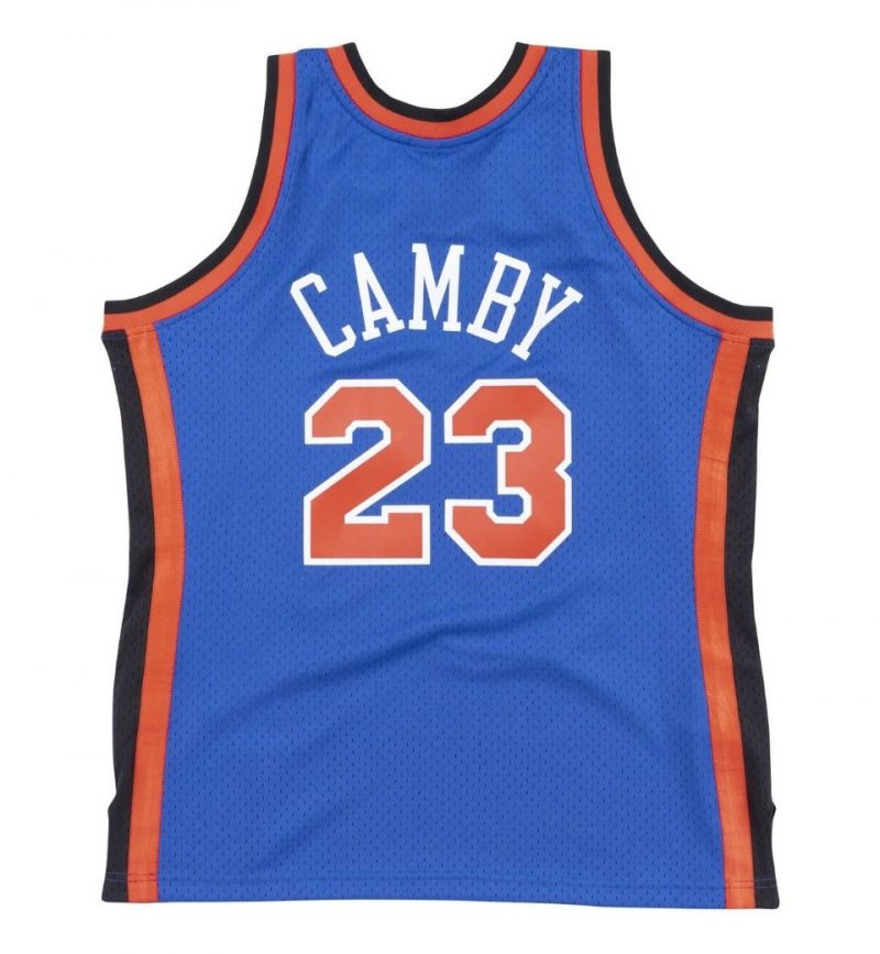 Maillot Marcus Camby New York Knicks - Mitchell and Ness - dos