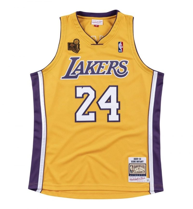 Authentic Jersey Los Angeles Lakers 2009-10 Kobe Bryant - Mitchell and Ness
