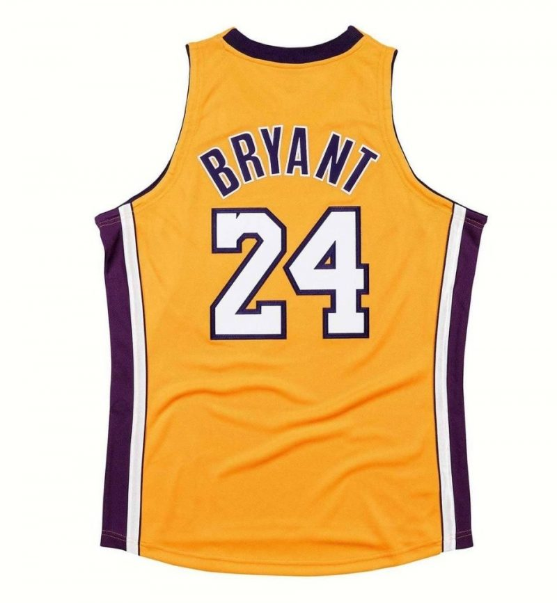 Authentic Jersey Los Angeles Lakers 2009-10 Kobe Bryant - Mitchell and Ness - dos