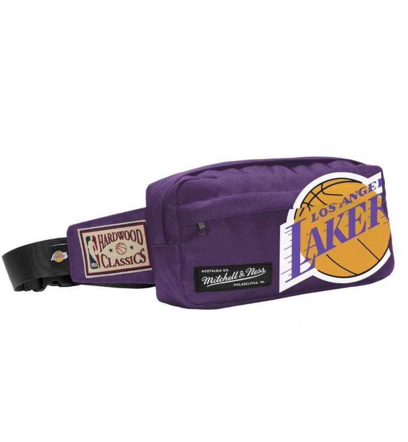 Fanny Pack Los Angeles Lakers - Mitchell & Ness